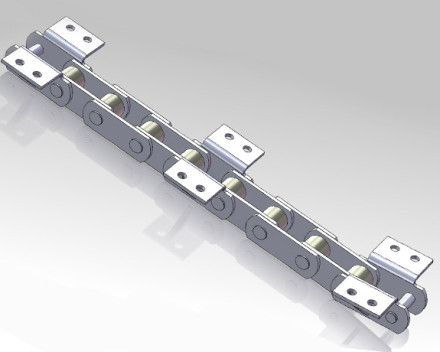 Hot Roller Plate Chain
